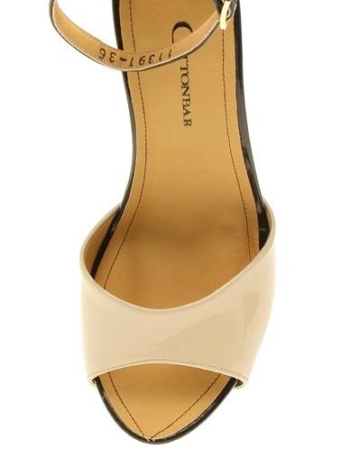 Cotton Bar Ayakkabı Bej
